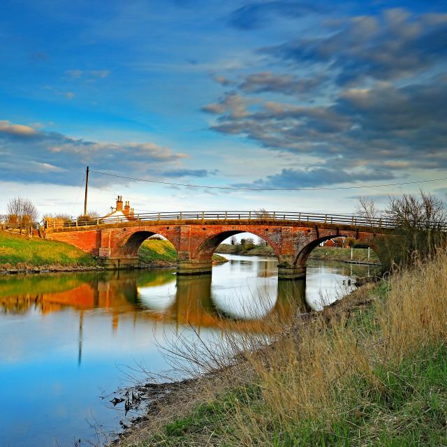 """Tattershall Bridge"" stock image"