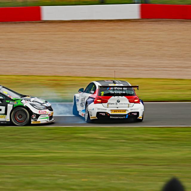 """Colin Turkington, Team BMW"" stock image"