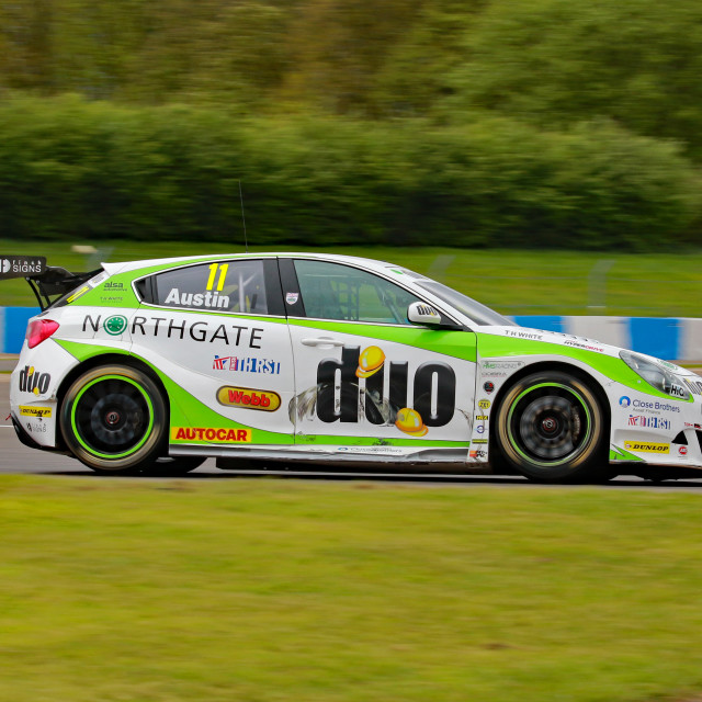 """Rob Austin, Handy Motorsport"" stock image"