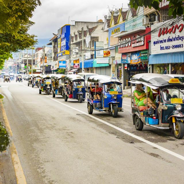 """""""Rickshaw Trip"""" stock image"""