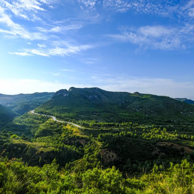 """Landscape in Spain"" stock image"