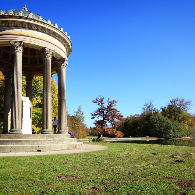 """""""MUNICH, GERMANY - neoclassical temple of Apollo"""" stock image"""