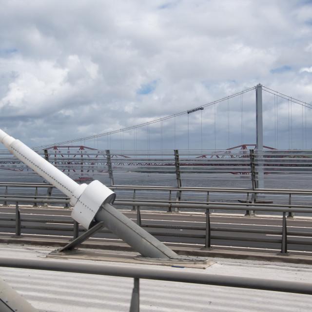 """""""Three Bridges in Edinburgh"""" stock image"""