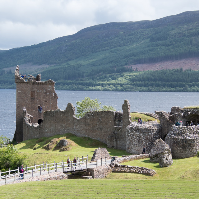 """Urquhart Castle, Scotland"" stock image"