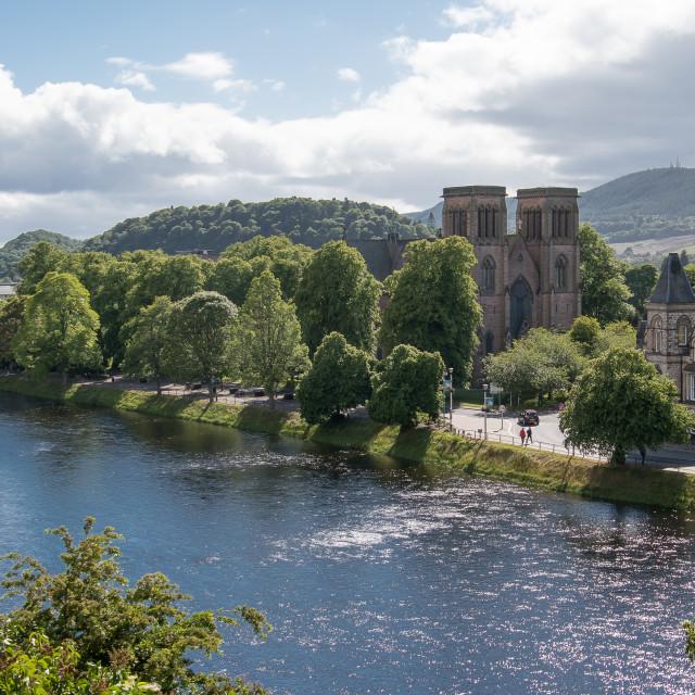 """Glasgow panorama"" stock image"