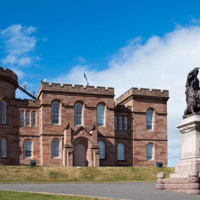 """Inverness Castle, Scotland"" stock image"