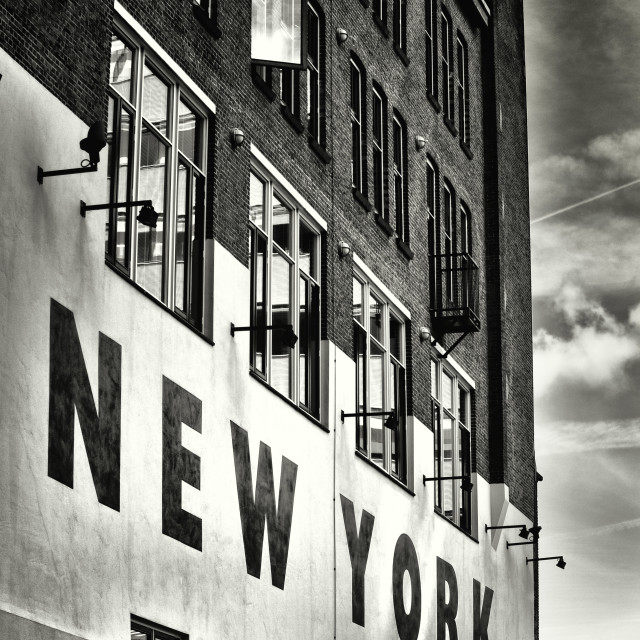 """Hotel New York"" stock image"