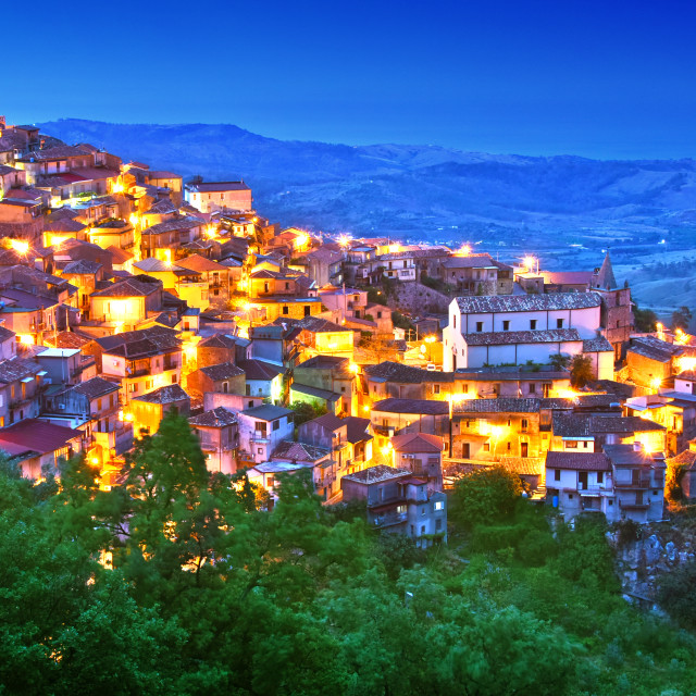 """The village of Staiti in the Province of Reggio Calabria, Italy"" stock image"