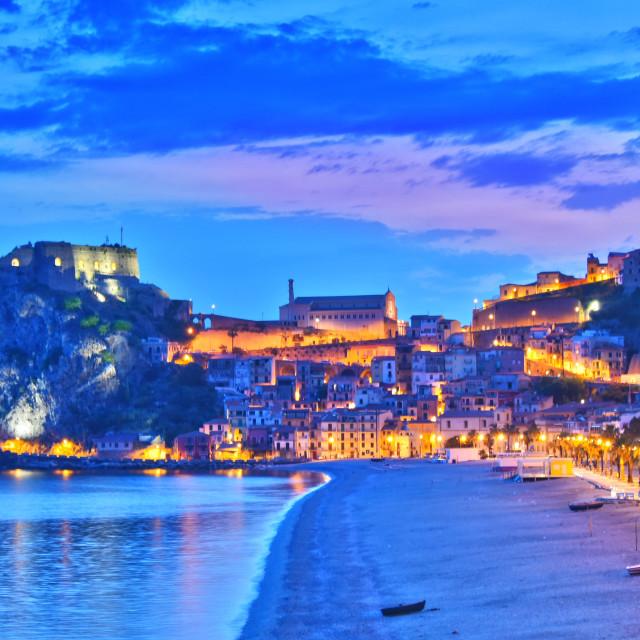 """""""The city of Scilla in the Province of Reggio Calabria, Italy"""" stock image"""