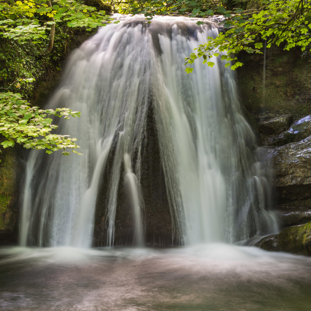 """Janet's Foss"" stock image"