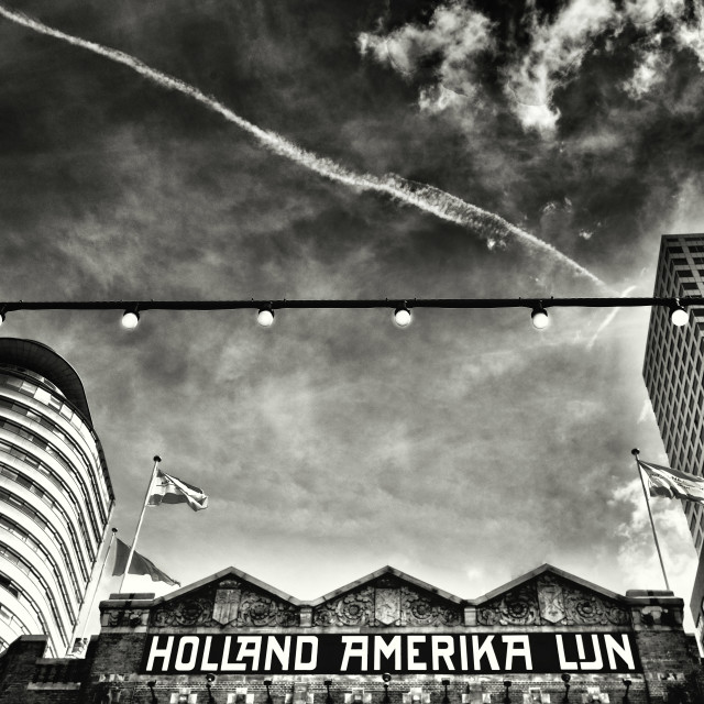 """Holland Amerika Lijn"" stock image"
