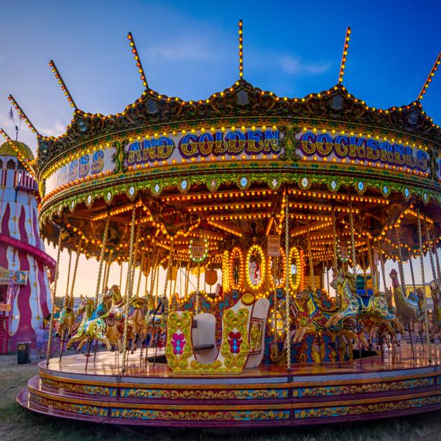 """Hoppings Carousel"" stock image"