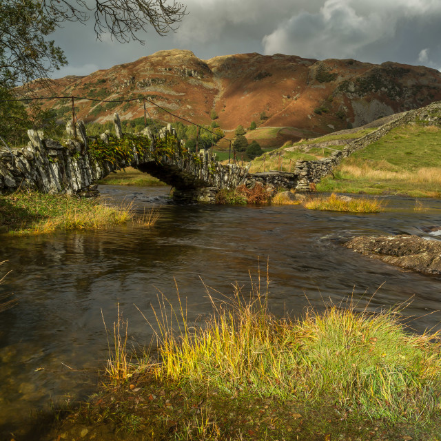"""Slaters Bridge"" stock image"