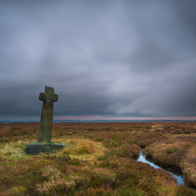 """Old Ralph's Cross"" stock image"