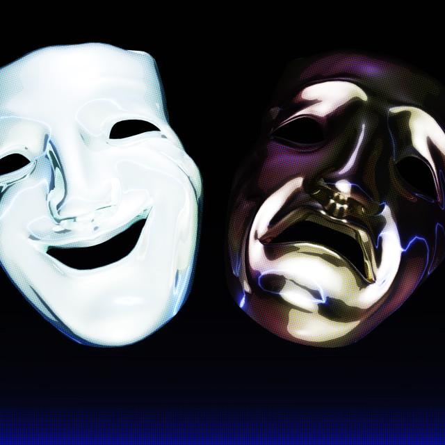 семейная театральные маски фото гифки минимального
