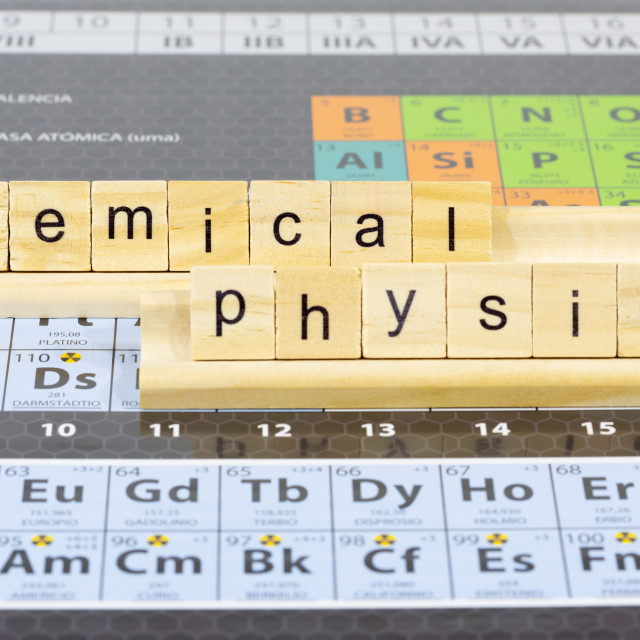 """""""Table of elements"""" stock image"""