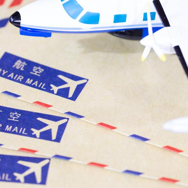 """Shipping envelopes"" stock image"