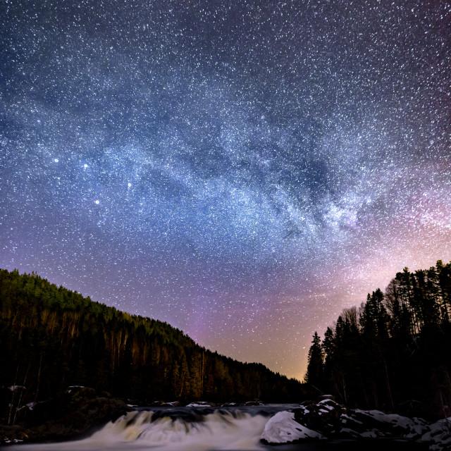 """Galaxy Falls"" stock image"