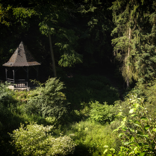 """Pittencrieff Park in Dunfermline, Scotland"" stock image"