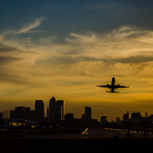 """""""Sunset in London"""" stock image"""
