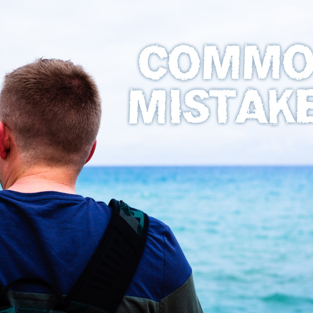 """""""Text sign showing Common Mistakes Motivational Call. Conceptual photo lot of..."""" stock image"""