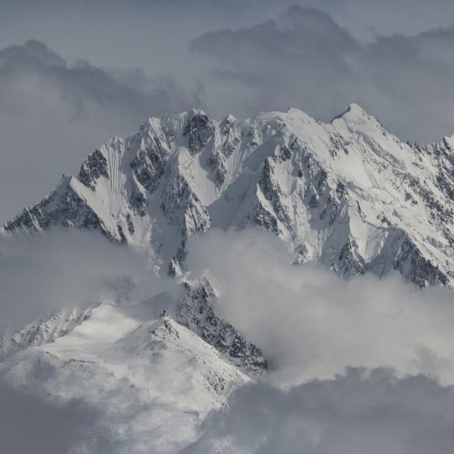 """""""Mountains in Karakoram"""" stock image"""