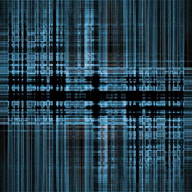 """""""Abstract blue tech background"""" stock image"""