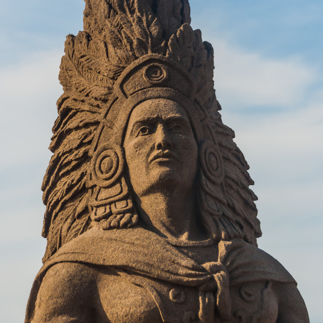 """Indian sand sculpture"" stock image"