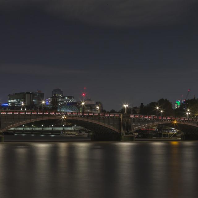 """Panoramic London"" stock image"