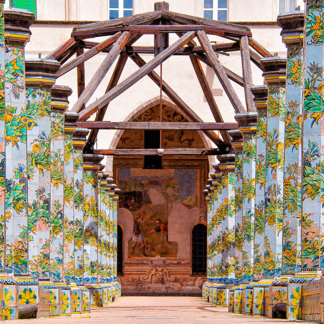 """Santa Chiara"" stock image"