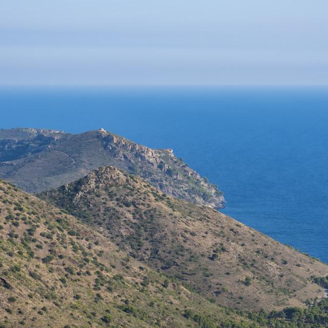 """""""Landscape in the Mediterraenan sea"""" stock image"""