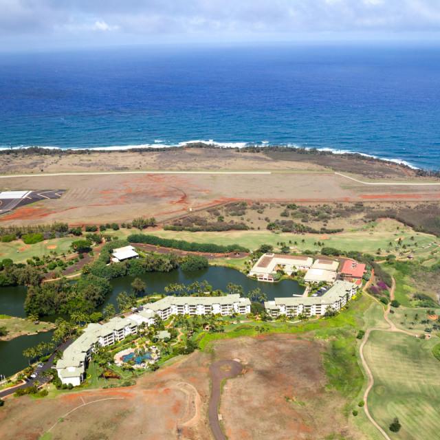 """""""Kauai Marriott Resort"""" stock image"""