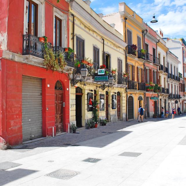 """""""Streets of Sardinia"""" stock image"""