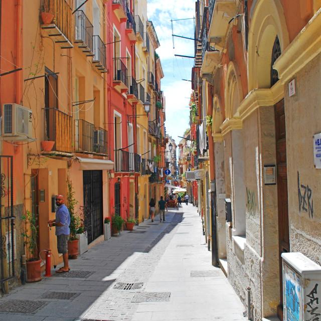 """""""Sardinia streets"""" stock image"""