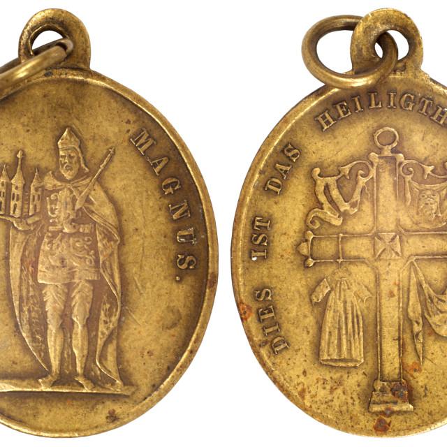 """""""old vitage medallion"""" stock image"""