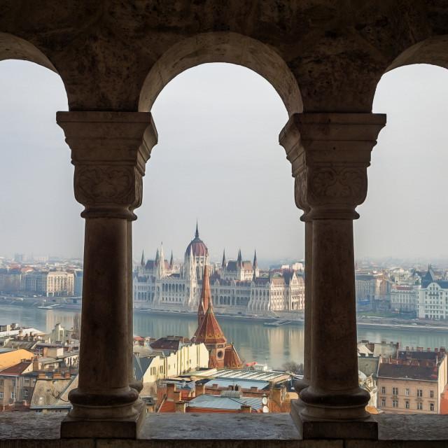 """""""Budapest Life."""" stock image"""