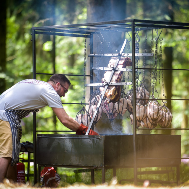 """BBQ"" stock image"