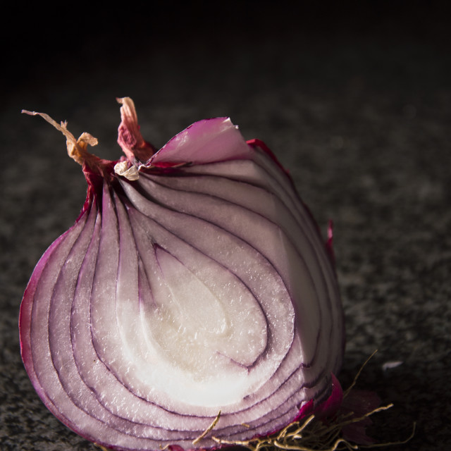 """""""Lady Onion portrait"""" stock image"""