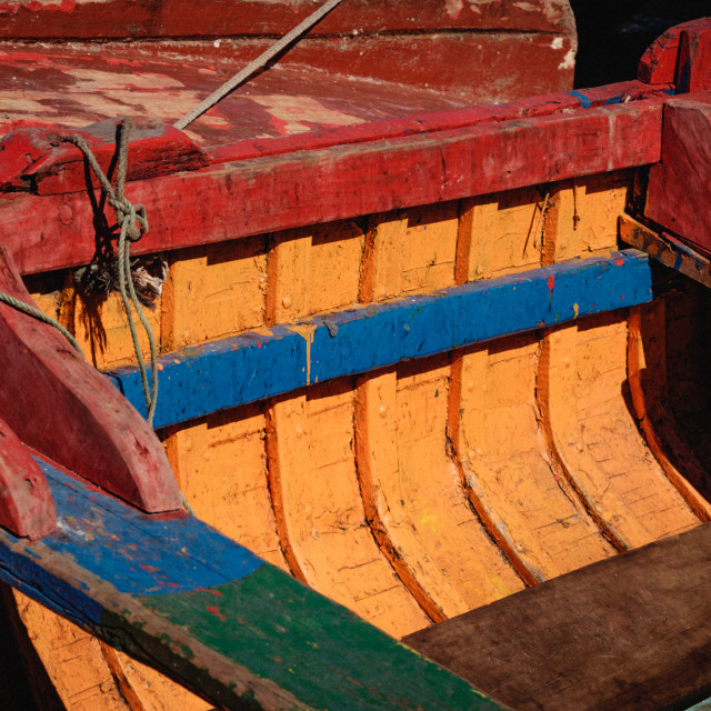 """Boat Color"" stock image"