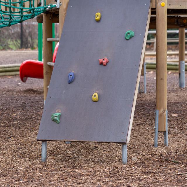 """Climbing Wall"" stock image"