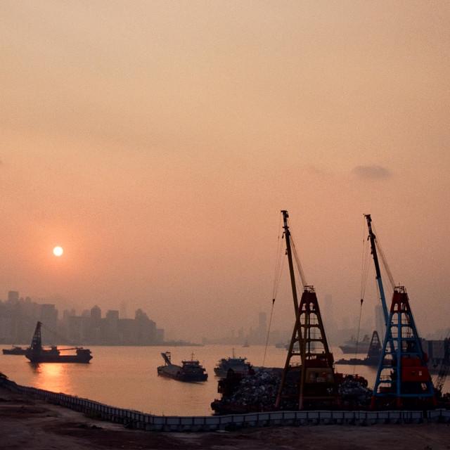 """""""Yau Tong, Hong Kong"""" stock image"""