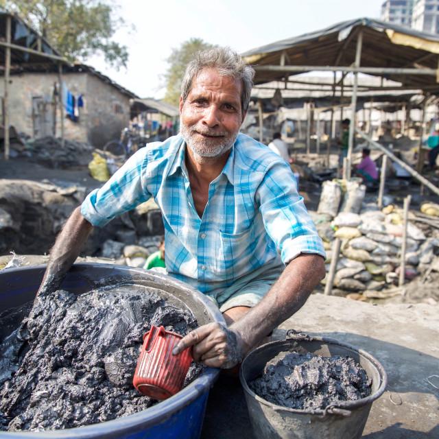 """""""Gold Hunter in Kolkata - India XIV"""" stock image"""