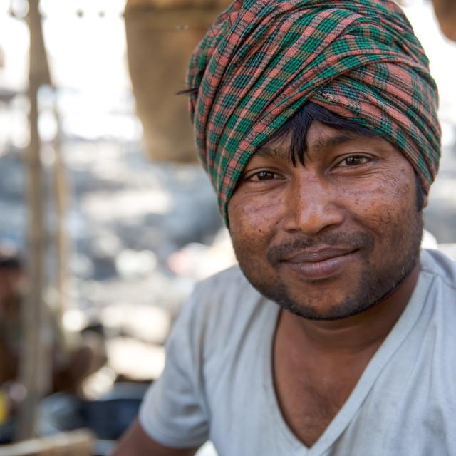 """""""Gold Hunter in Kolkata - India LXXXVI"""" stock image"""