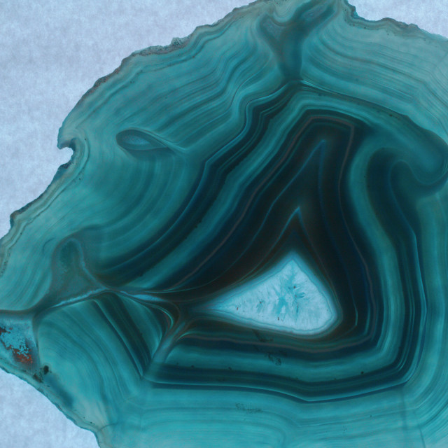 """""""Blue Agate"""" stock image"""