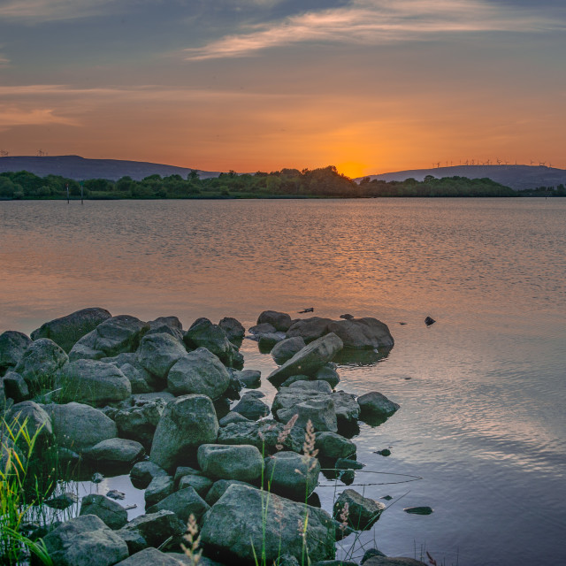 """Lough Allen Co Leitrim Ireland"" stock image"