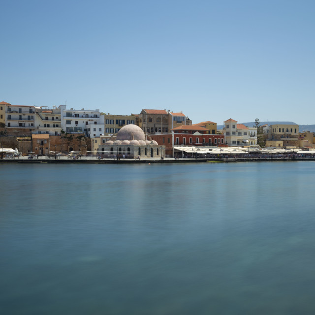"""""""Old Venetian Chania Harbour"""" stock image"""