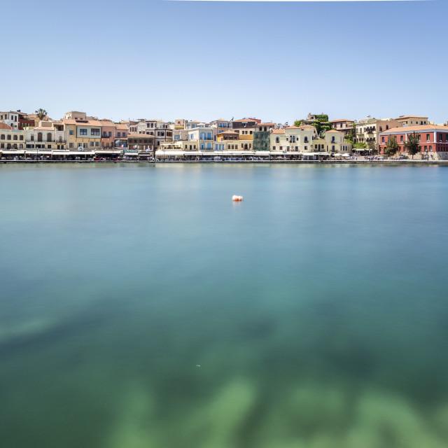 """Chania Crete Port"" stock image"