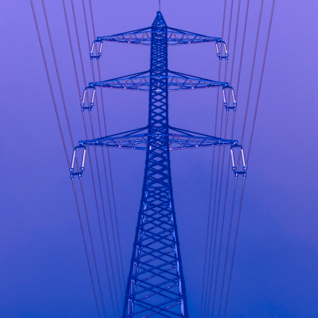 """high voltage power line"" stock image"