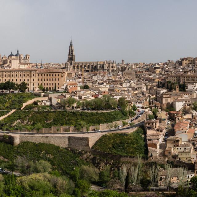 """""""Toledo Panoramic"""" stock image"""