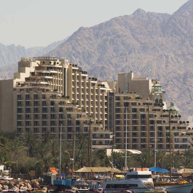 """Dan Hotel, Eilat, Israel"" stock image"